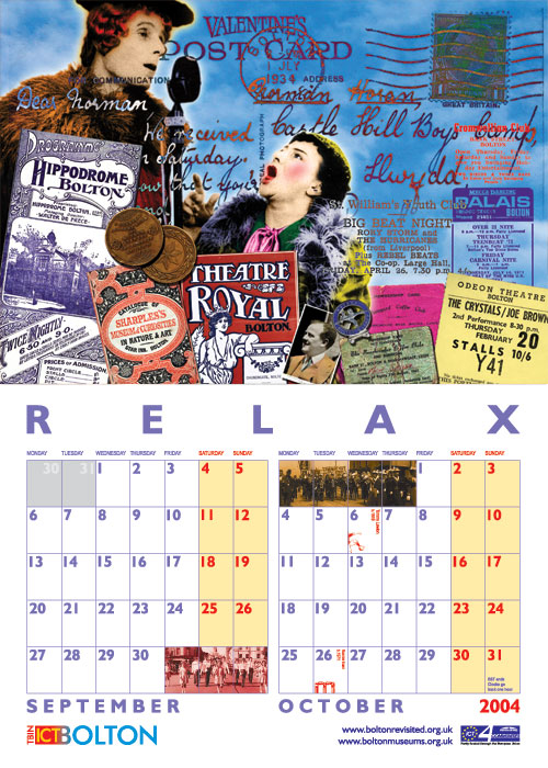 Bolton Revisited Calendar 2004