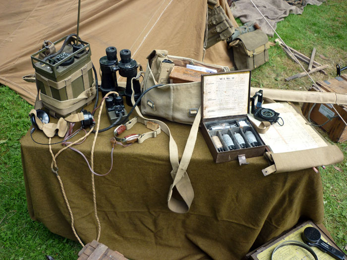 WW2 Equipment Display, Turton Tower